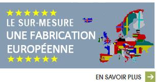 Mobilier fabrication européenne